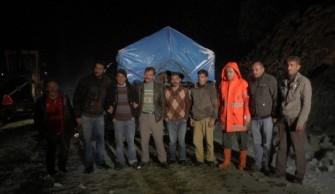 Macahel Zirvesi'nde Kar Nedeniyle Mahsur Kalan 3 Vatandaş Kurtarıldı