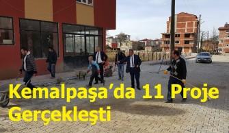 Kemalpaşa'da 11 Proje Gerçekleşti