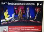 Yeşil Artvin Heyeti Halk TV Canlı Yayınına Katıldı