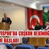 ARHAVİSPOR'DA COŞKUN HEKİMOĞLU DÖNEMİ BAŞLADI