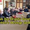 CHP İl Ve İlçe Örgütü Yöneticileri Artvin'e Desteğe Geldi