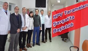 HPV Taramaları Şavşat'ta Başlatıldı