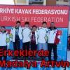 U-12 Erkeklerde Altın Madalya Artvin'in