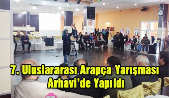 Uluslararası Arapça Yarışması Arhavi'de Yapıldı