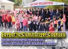 Şavşat'ta Cumhuriyet Coşkusu