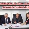 Şavşat Belediyesi ile Tapu  ve Kadastro Arasında Protokol İmzalandı