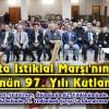 Şavşat'ta İstiklal Marşı'nın Kabulünün 97. Yılı Kutlandı