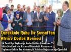 Çanakkale Ruhu İle Şavşat'tan Afrin'e Destek Kermesi