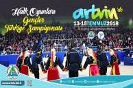 Spor Kenti Artvin Halk Oyunları Şampiyonasına Ev Sahipliği Yapıyor