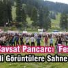 28. Şavşat Pancarcı Festivali Renkli Görüntülere Sahne Oldu