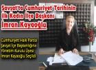 Şavşat'da Cumhuriyet Tarihinin ilk Kadın İlçe Başkanı İmran Kayaoğlu
