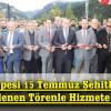 Efkar Tepesi 15 Temmuz Şehitler Parkı Düzenlenen Törenle Hizmete Açıldı