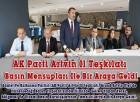 AK Parti Artvin İl Teşkilatı Basın Mensupları İle Bir Araya Geldi