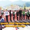 Şavşatlı minik öğrencilerden Mehmetçiğe mektup