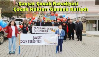 Şavşat Çocuk Belediyesi Çocuk Hakları Gününü Kutladı