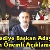 CHP Belediye Başkan Adayı Nihat Acar'dan Önemli Açıklamalar