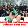 Veliköy Kar Üstü Karakucak Güreşleri Nefes Kesti