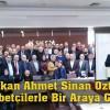 Başkan Ahmet Sinan Öztürk  Gurbetçilerle Bir Araya Geldi
