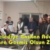 CHP'li Belediye Başkan Adayından Hastalara Geçmiş Olsun Ziyareti