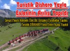 Turistik DİSHARO Yayla Evlerinin Açılışı Yapıldı