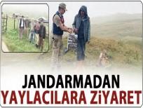 Şavşat Jandarma Ekiplerinden Yaylacılara Anlamlı Ziyaret