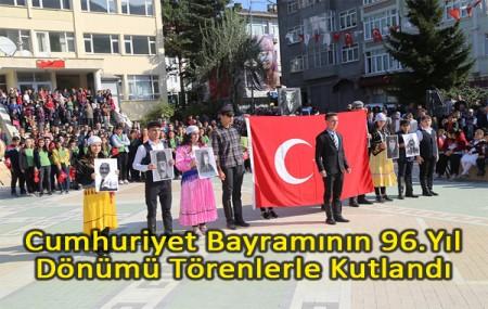 Cumhuriyet Bayramının 96.Yıl Dönümü Törenlerle Kutlandı