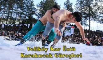 Veliköy Kar Üstü Karakucak Güreşleri İptal Edildi