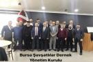 Bursa Savsatlılar Derneğinde  Şener Temur Dönemi Basladı
