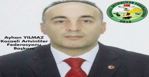 Kocaeli Artvinliler Federasyonu Hemşerimiz Ayhan Yılmaz'a Teslim