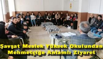 Şavşat Meslek Yüksek Okulundan Mehmetçiğe Anlamlı Ziyaret