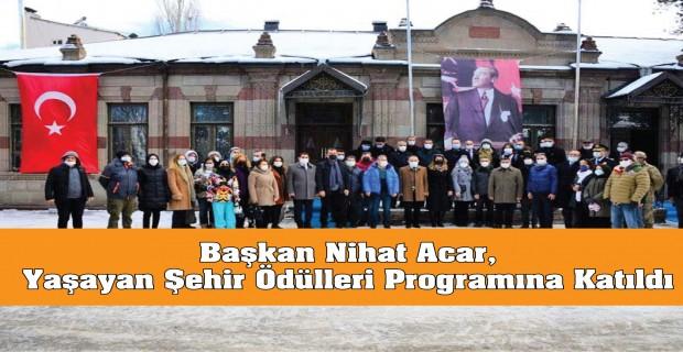 Başkan Nihat Acar, Yaşayan Şehir Ödülleri Programına Katıldı
