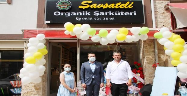 Şavşateli Organik Şarküteri Açıldı