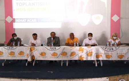Başkan Nihat Acar'dan Bilgilendirme Toplantısı