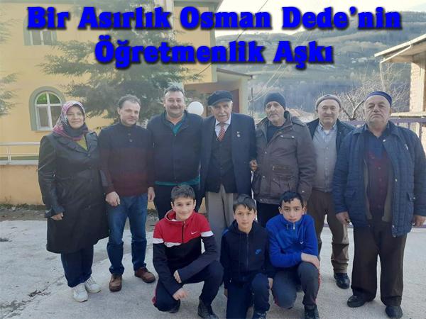Bir Asırlık Osman Dede'nin Öğretmenlik Aşkı