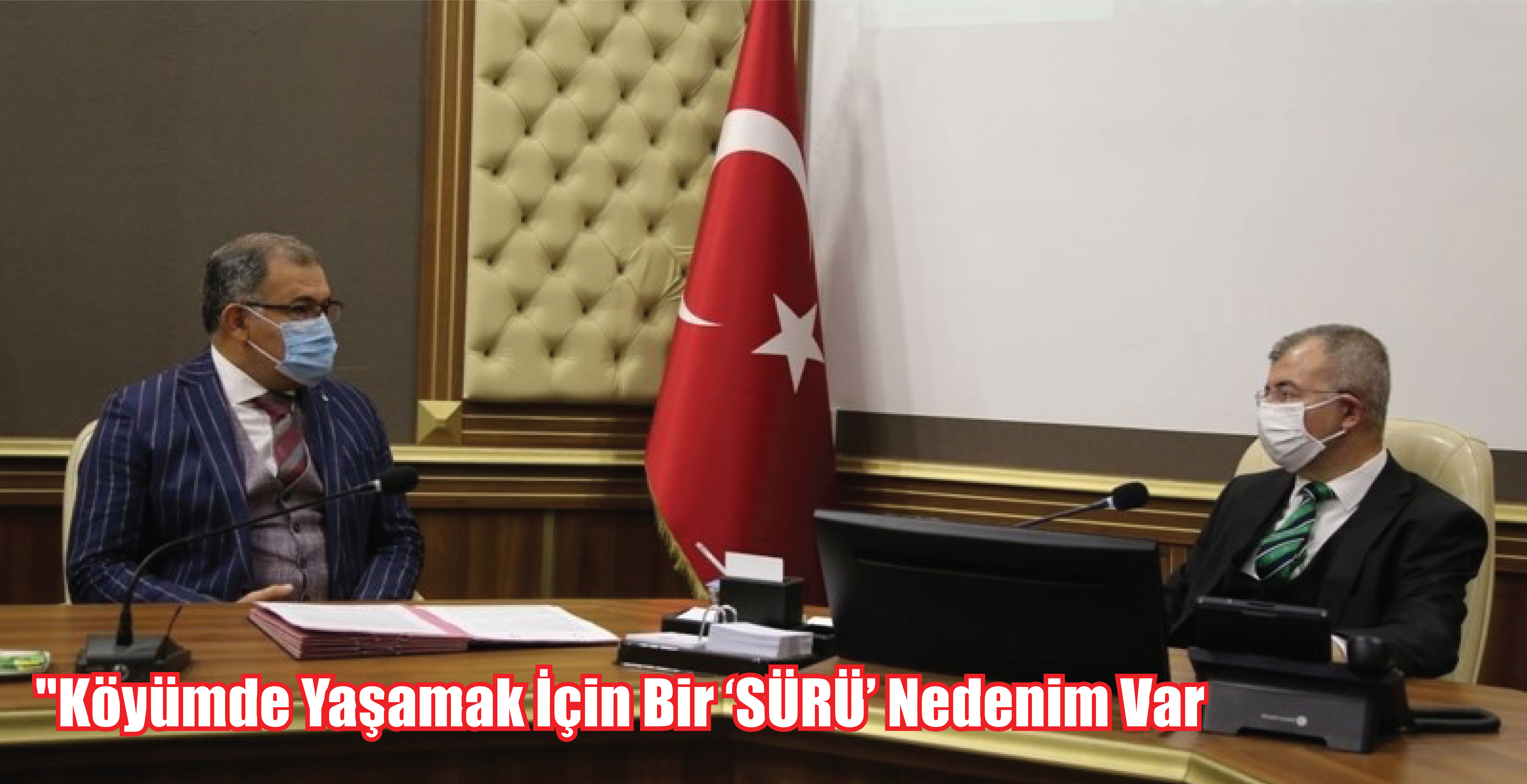 """""""Köyümde Yaşamak İçin Bir 'SÜRÜ' Nedenim Var"""